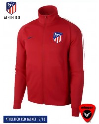 Athletico Madrid Authentic Red Jacket (17/18)