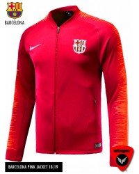 Barcelona Authentic Pink Jacket (18/19)
