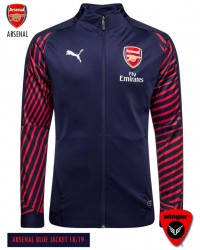 Arsenal Authentic Blue Jacket (18/19)