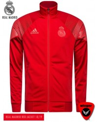 Real Madrid Authentic Red Jacket (18/19)
