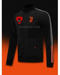 Juventus Black Orange Authentic Jacket (20/21)