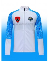 Man City White Authentic Graphics Jacket (20/21)