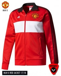 Man U Authentic Red Jacket (17/18)