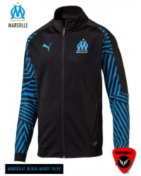 Marseille Authentic Black Jacket (18/19)