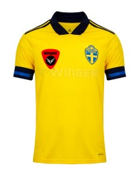 Sweden-Authentic-Jersey Euro 2020 (Yellow)