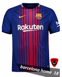 Barcelona Authentic Jersey 18 (Home)