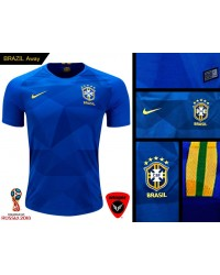 Brazil World Cup Authentic Jersey 2018 (Away)