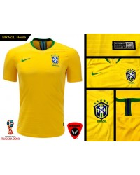Brazil World Cup Authentic Jersey 2018 (Home)