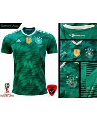Germany World Cup Authentic Jersey 2018 (Away)