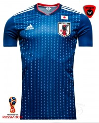 Japan World Cup Authentic Jersey 18 (Home)