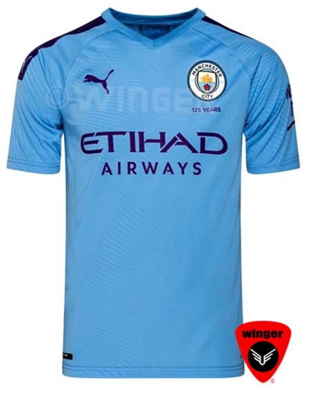 Man City Authentic Jersey 2020 (Home)