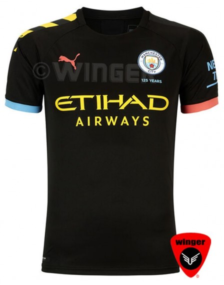 Man City Authentic Jersey 2020 (Away)