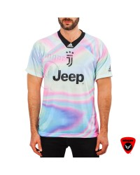 Imported Juventus EA Sports Special Jersey 2019 (Rainbow)