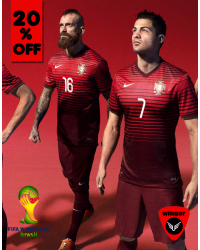 Portugal ORIGINAL Jersey 2014 (Home)