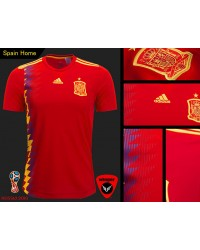 Spain World Cup Authentic Jersey 2018 (Home)