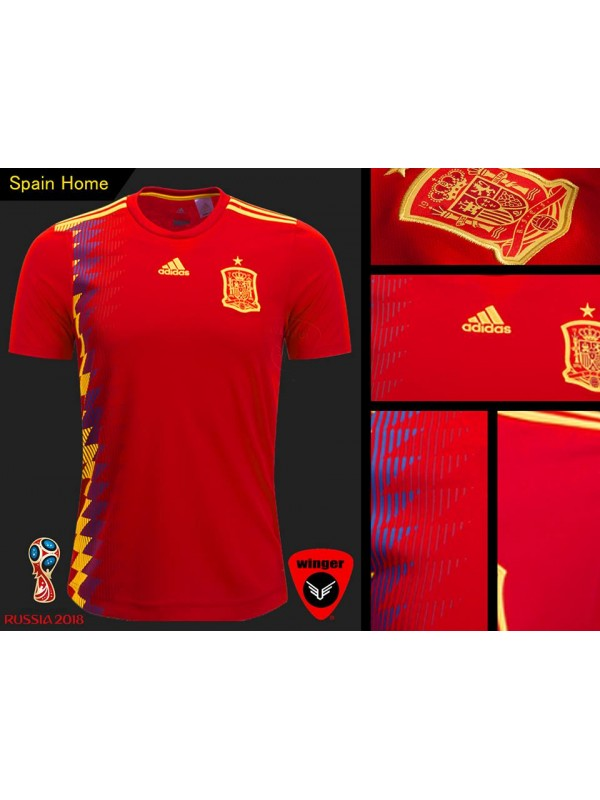 the best attitude e9b01 c573d Spain World Cup Authentic Jersey 2018 (Home)