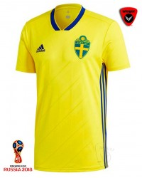 Sweden World Cup AU Jersey 18 (Home)