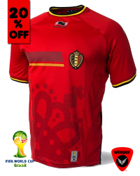 Belgium Authentic Soccer Jersey 2014 (Home)