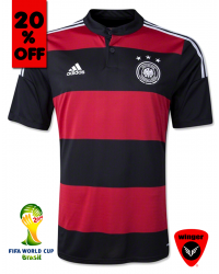 Germany Authentic Soccer Jersey 2014 (Away)