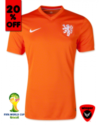 Netherland Authentic Soccer Jersey 2014 (Home)