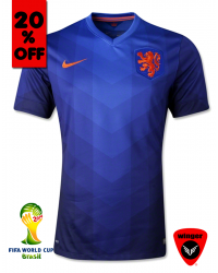 Netherland Authentic Soccer Jersey 2014 (Away)