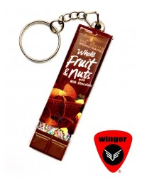 Fruit & Nut Chocklet Key-Ring