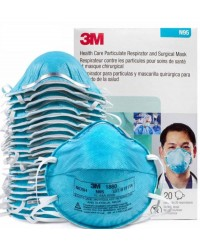 3M-1860-Respiratory-Mask Box (20 Pcs)