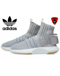 Imported Adidas Crazy 2 Sock ADV Primeknit Shoes (Gray)