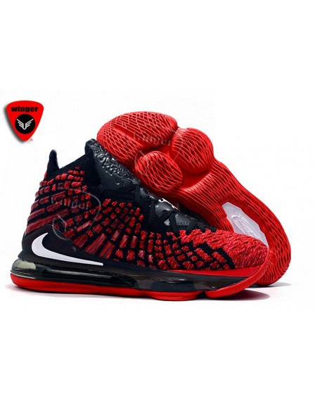 Nike-Lebron 17 Shoe 2 (Red)