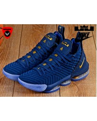 Imported Nike Lebron 16 Shoe 2 (Blue)
