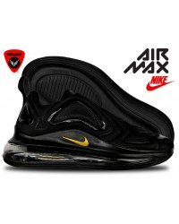 Imported Nike Air Max 720 SHOE 3 (Black Gold)