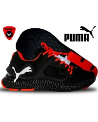 Puma Hybrid Mesh Shoe B2 (Black/Orange)