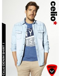 Celio* Denim Shirt 1