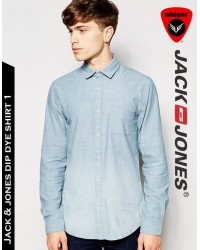 Jack & Jones dip dye Shirt 1