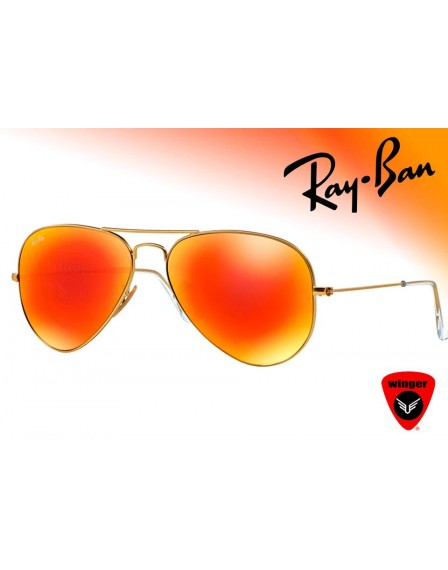 Ray-Ban Aviator Fire Flash