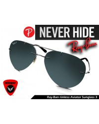 Ray-Ban Rimless Aviator 3