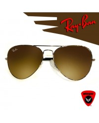 Ray-Ban Pilot Aviation Sunglass 2 (Brown)