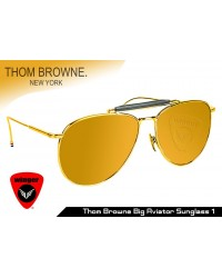 Thom Browne big aviator Sunglass 1