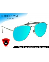 Thom Browne big aviator Sunglass 4