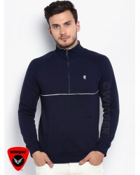 RedTape High Neck Sweatshirt 2 (Navy)