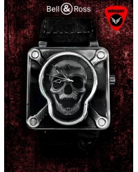 Bell & Ross Skull Watch 2 (Black)