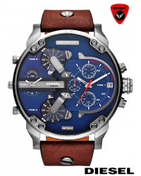 DIESEL Big Daddy 2.0 Watch (Blue)