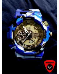 G-Shock Blue Camo Watch