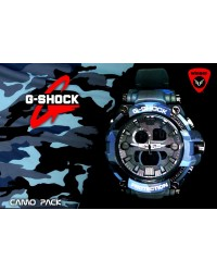 G-Shock CAMO-PACK Watch (Blue)