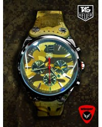 Tag Heuer Camo Watch (Brown)