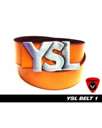 YSL Leather Belt 1