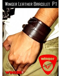 Winger Leather Bracelet P1