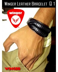 Winger Leather Bracelet Q1