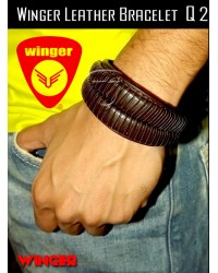 Winger Leather Bracelet Q2