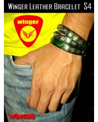 Winger Leather Bracelet S4